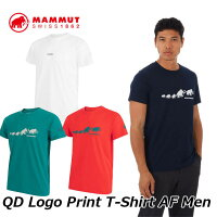 MAMMUTマムートメンズTシャツQDLogoPrintT-ShirtAFMen1017-02010正規品