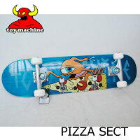 スケートボードコンプリートTOYMACHINEトイマシーンPIZZASECT#27.75ピザセクトピッツァ
