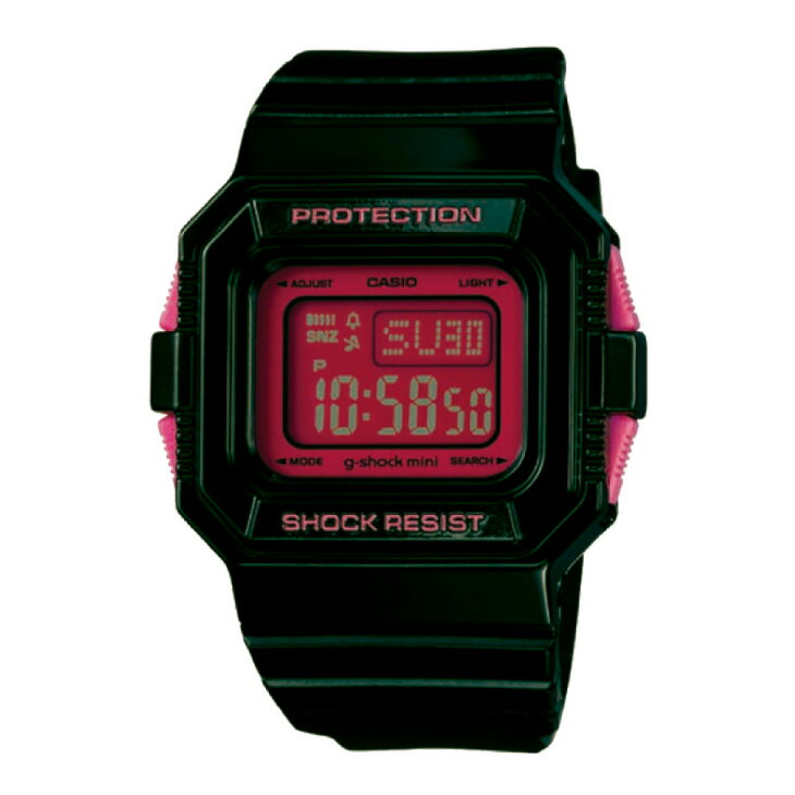 腕時計, 男女兼用腕時計  G-SHOCK MINI G GMN-550-1BJRg BLACKPINK ship1