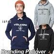 volcom Japan Limited ボルコム パーカー メンズ 【新作】【Branding Pullover 】長袖 フリース フードVOLCOM ヴォルコム 【あす楽_年中無休】【返品種別SALE】