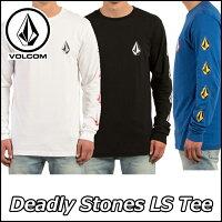 VOLCOMボルコムtシャツロンTメンズ【DeadlyStonesL/STee】長そでヴォルコム【あす楽_年中無休】【メール便不可】