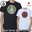 volcom ボルコム tシャツ Apac Spray Stone S/S Tee JAPAN メンズ 半袖 AF011900 2019 春 夏 新作【返品種別OUTLET】
