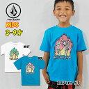 ボルコム キッズ Tシャツ volcom KIDS Skele Flames S/S Tee 半袖 3-7歳 幼児 Little Youth Y3521931【返品種別OUTLET】