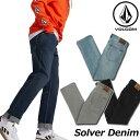 ボルコム VOLCOM デニム メンズ Solver Denim パンツ A1931503 【返品種別OUTLET】