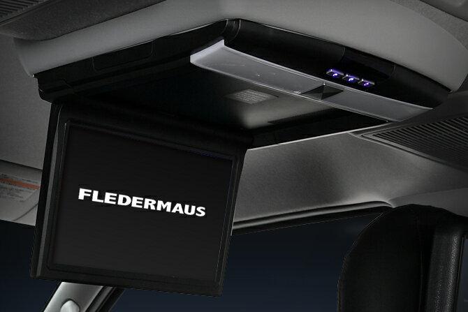 FLIP DOWN フリップダウンモニター TFT液晶アクティブマトリックス方式搭載 10.1インチ ブラック フレーダーマウス FLEDERMAUS画像