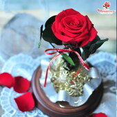 《foreverinlove》ガラスドームプロポーズクリスマス記念日プレゼントギフト誕生日還暦長寿のお祝い出産祝い結婚祝い結婚記念日退職祝い新築祝い送別お見舞い枯れない花花プリザーブドフラワーブリザードフラワーブリザーブドフラワー