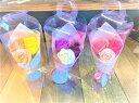 【あす楽】ソープフラワー3輪ブーケ【手持ちbox入り】3色 石鹸 フラワーギフト ミニブーケ 枯れな ...