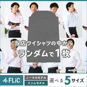 ワイシャツ 長袖 サイズが選べる お試しワイシャツ ノーマル スリム ワイシャツ ドレスシャツ gh