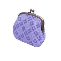 Ortensia(オルテンシア)紫陽花紋様・親子がま口財布【西陣織】