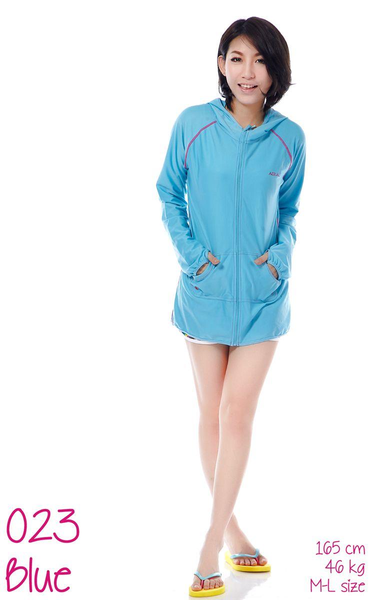 ラッシュガードレディースロング長袖指穴UVカット紫外線対策女性用体型カバー水着パーカー日焼け防止フードUPF50+