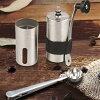手挽きコーヒーミルセラミック臼ステンレス製手動コーヒー豆挽き器