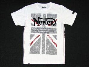 【5%OFF】Norton(ノートン)ユニオンジャック半袖Tシャツ 12N1000E