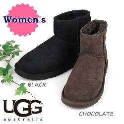 ◆◆UGGAUSTRALIA<ClassicMini>◆◆アグオーストラリア/クラシックミニ<アンクル丈ブーツ>シープスキン*レディース