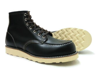 "Red Wing 9874 モックトゥ black ""クローンダイク"", ""Irish setter dog tag model] [FL]"