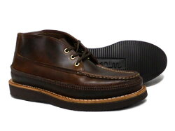 ◆◆RUSSELLMOCCASIN/ラッセルモカシン◆◆SPORTINGCLAYSCHUKKASINGLEVANPDOUBLEMOCCASIN(#200-27W)*TANCHROMEXCEL<クロムエクセル>〔FL〕