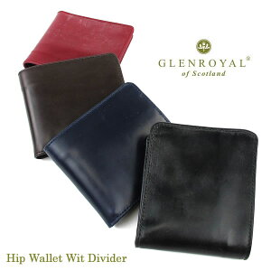 GlenRoyal Folding Wallet Hip Wallet Wit Divider 03-6171 Glen Royal [FL]