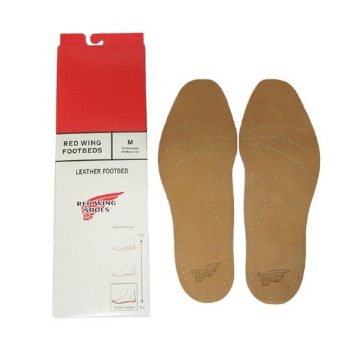靴ケア用品・アクセサリー, インソール・中敷き  REDWING LEATHER FOOTBEDS 96356 FL