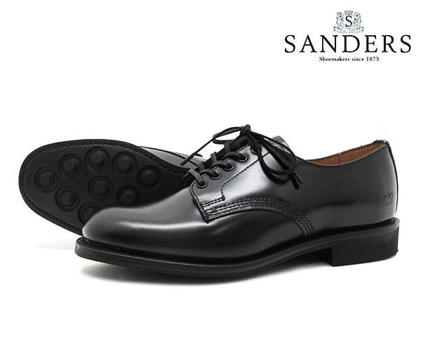レディース靴, その他 SANDERS Female Plain Toe Shoe 1522B BLACK FL