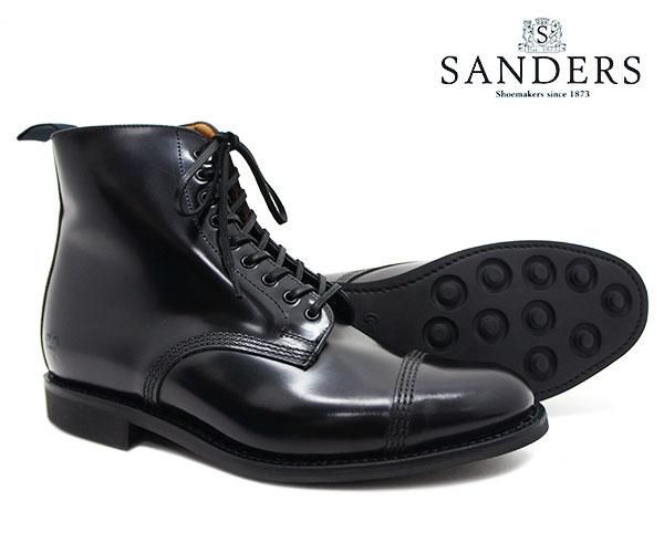 ブーツ, その他 SANDERS Military Derby Boot 1595B FL