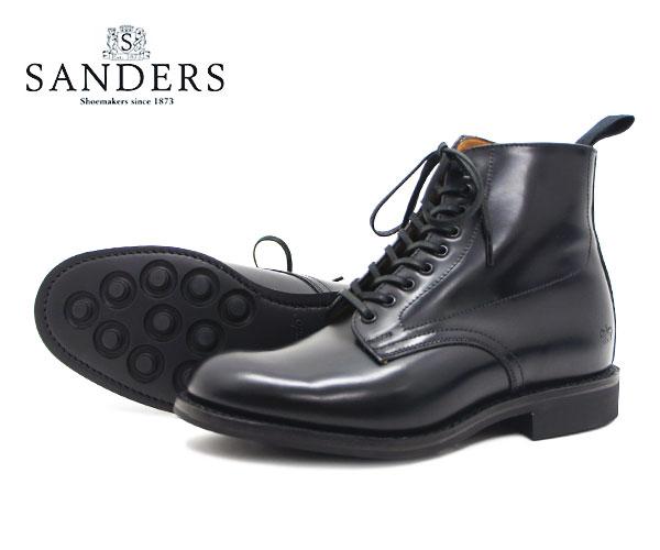 ブーツ, その他 SANDERS Military Derby Boot 1615B FL