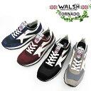 WALSH ウォルッシュ メンズスニーカー TORNADO〔...