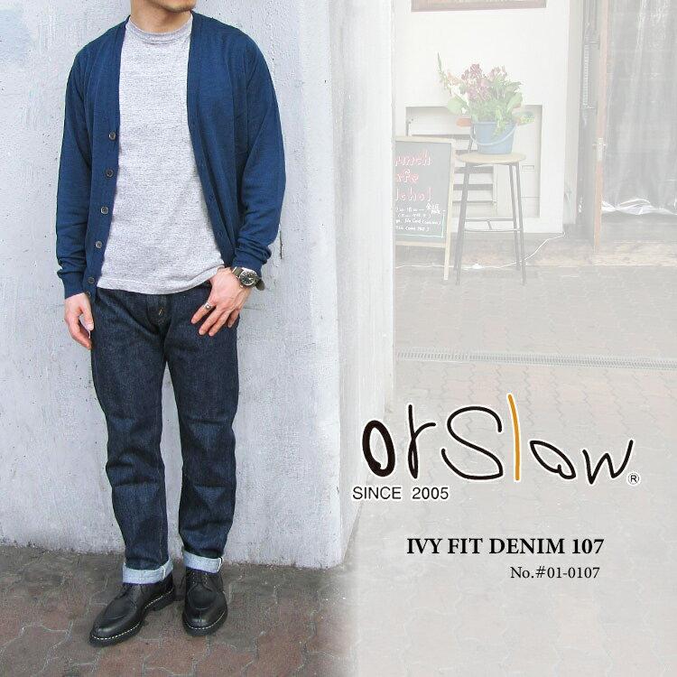 メンズファッション, ズボン・パンツ orSlow IVY FIT DENIM 107 01-0107FL