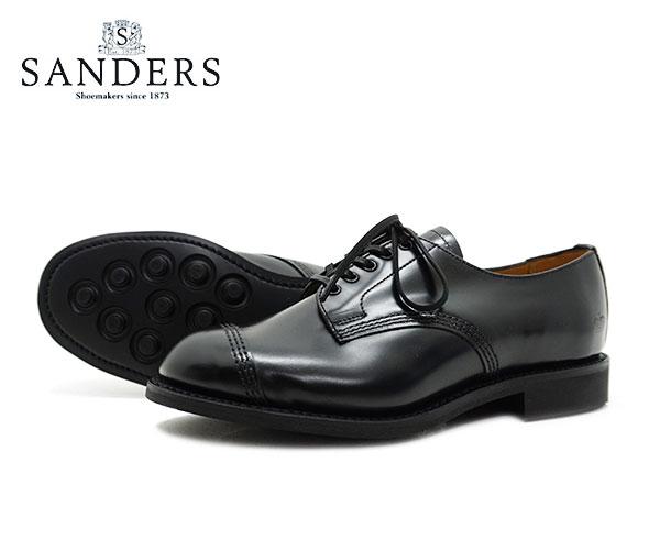 レディース靴, その他 SANDERS Military Derby Shoe 1834B BLACK FL