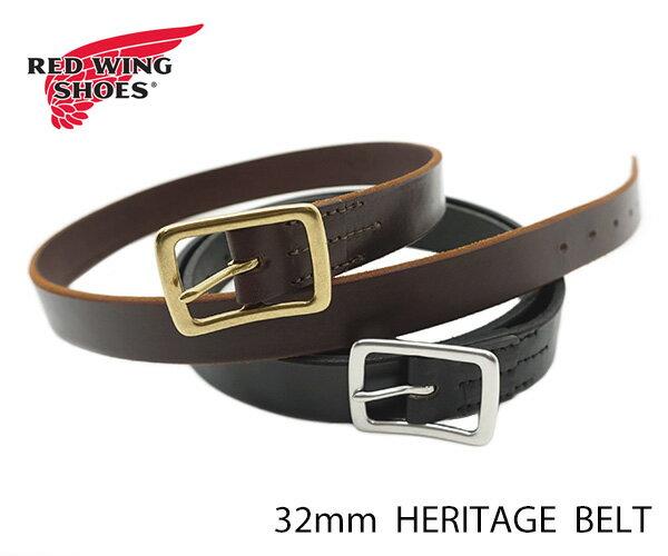ベルト・サスペンダー, メンズベルト  REDWING Leather Belt 32mm FL