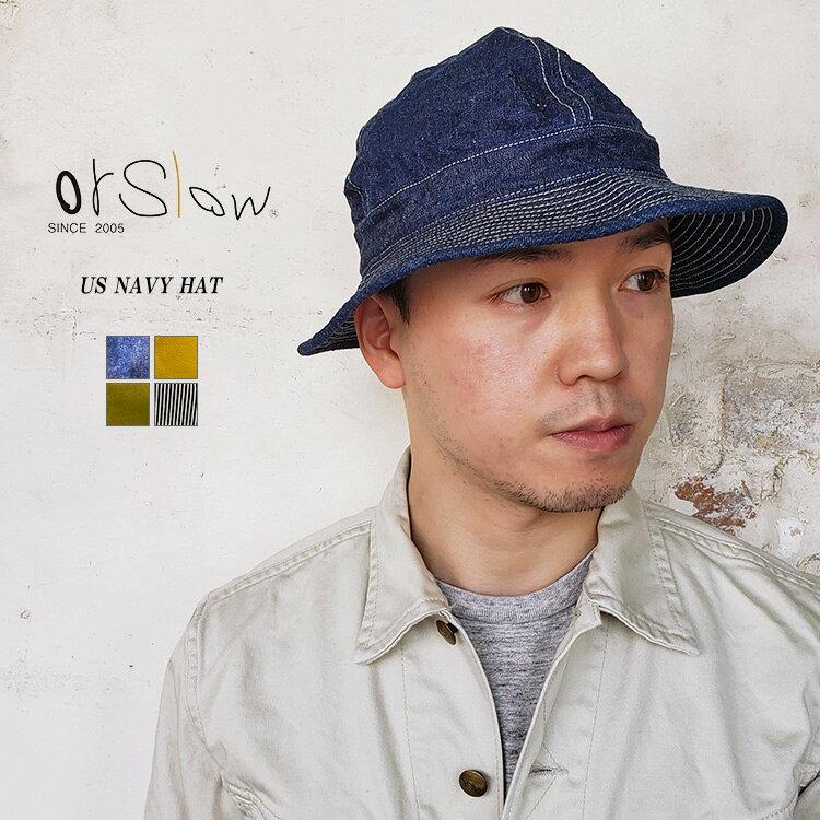 メンズ帽子, ハット orSlow 03-001 US NAVY HAT US SM FL
