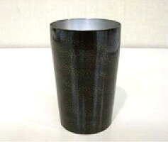 漆チタンカップ中黒溜