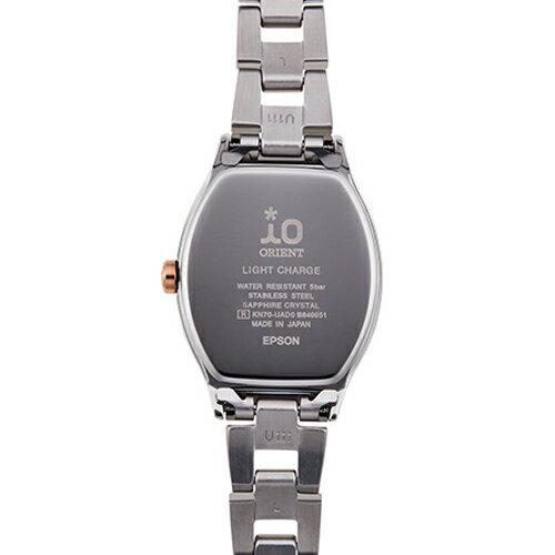 オリエント イオ ORIENT IO Natural & Plain ナチュラル&プレーン ソーラー電池 RN-WG0010A レディース 腕時計