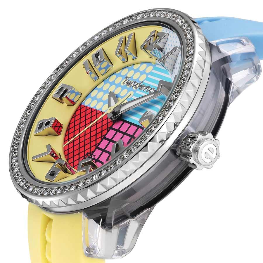 【ポイント10倍 5/27(月)10:59まで!】テンデンス TENDENCE クレイジーミディアム CRAZY Medium TG930060 ユニセックス メンズ レディース 腕時計
