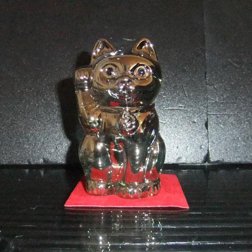 バカラ グラス 名入れ招き猫 ゴールド 2-612-997(まねき猫)【結婚祝】【出産祝】【退職祝】【引越祝】【還暦祝】【記念品】:バカラ名入れ フローレンス芦屋