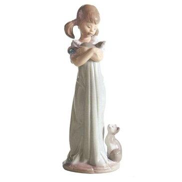 リヤドロ人形【リヤドロ】私のことも忘れないで 5743【結婚祝】【出産祝】【退職祝】【引越祝】【還暦祝】【記念品】