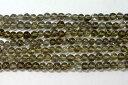 天然石4.5mm a0422 スモーキークォーツ 約38-40cm(石・天然石・パワースト...