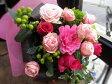 バラ入りブーケタイプ花束/母の日/結婚祝い/誕生日/発表会/歓送迎会/送料無料/ラッピング無料