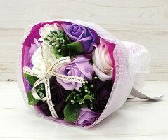 ソープフラワー紫