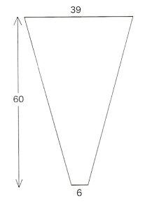 三角パック#40-6@5.5円×10000枚入り(flo159)