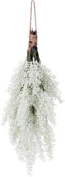 クリスマス 35cmシダースワッグ ホワイト @590×6本セット CAD-025 W 《2018ds》| ドアリース アートフラワー 造花 X'mas 玄関 飾り 園芸 冬 装飾