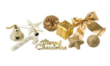 クリスマス ミニオーナメントセット GO @530×8セット COC-202 《2018ds》| オーナメント X'mas インテリア おしゃれ 装飾 冬 飾り ウインター