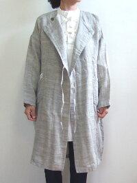 Brocanteブロカントドミンゴ38-098Z16-8ドゥ−コートグレーコットンリネンガーゼ綿麻倉敷児島日本製MadeinJAPAN
