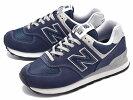 【WOMEN】newbalanceニューバランスWL574ENNAVYネイビーランニングシューズスニーカーShoes