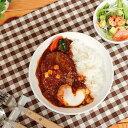 『強化磁器』女性・お子様用カレー皿【洋食器 白い食器 アウトレット込み ダイエット……