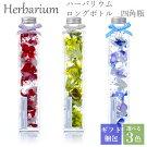 ハーバリウム母の日ギフトプレゼントロングボトル四角瓶全3色