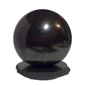 シュンガイトのボール型オブジェ13cm