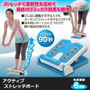 アクティブストレッチボード/ストレッチ ダイエット 美容 健康 サポートアップ 2