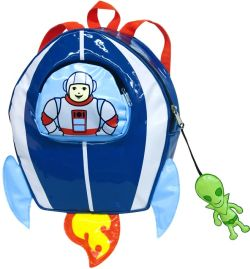 ロケットバッグ 子供リュック Kidorable(キドラブル) スペースヒーローのバックパック(子供リュック) 遠足 ハイキング 子供リュック かわいい ポケット付 カワイイ プレゼント ギフト 誕生日プレゼント