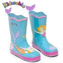 子供 女児 キッズ 長靴 Kidorable(キドラブル)マーメイドのレインブーツ人魚の子供長靴 カワイイ プレゼント ギフトサービス …