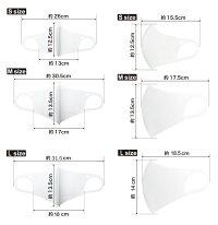 接触冷感洗えるマスクIFMIC(イフミック加工)AXF×Belgard(アクセフ×ベルガード)Anti-BacterialMask大人用マスクストレッチ3Dフィット立体構造ブラックSMLサイズ1枚入り飛沫花粉防塵UVカット