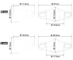 最新デザイン!快適素材抗菌防臭布エコマスクIFMIC(イフミック加工)AXF×Belgard9(アクセフベルガード)バイカラー大人用マスクストレッチ3Dフィット立体構造レッドイエローネイビーグレー1枚入り飛沫花粉防塵UVカット